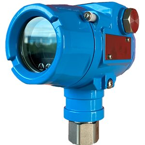 LY16 SERIES, -1 / 0 / 1 PSI, 4 / 20MA, 0.2%, 316L WELDED, 1 / 2'' NPT , LCD
