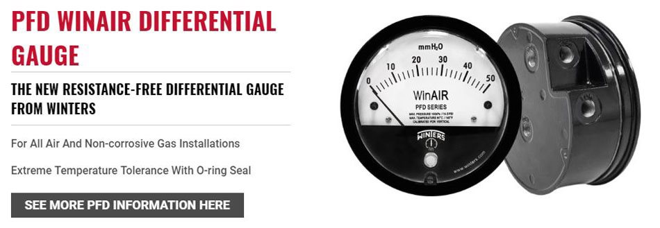 PFD WinAIR Differential Gauge